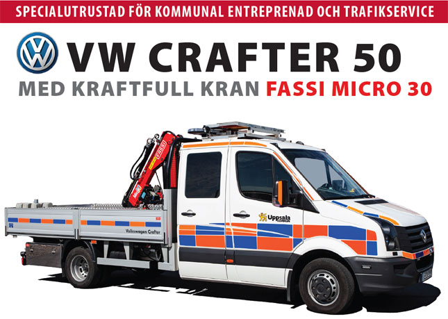 Crafter 50 med Fassi M30
